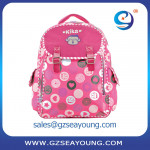 Top quality long term stock school backpack kids laptop bags computer bags