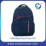 High quality laptop computer school backpack travel bags for college students