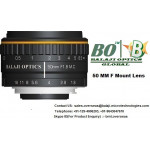35 MM & 50 MM F MOUNT MACHINE VISION LENS - BALAJI OPTICS