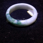 Natural Green Jade Bangle from Myanmar