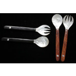 Mother of Pearl Salad Spoon & Fork