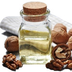 100% refined walnut oil obtained by cold pressing