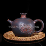 Ceramic Teapot Qinzhou Nixing Pomegranate Tea Pot 230ml Hand Painting Tea Set