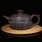 Chinese Qinzhou Nixing Pottery Large Capacity Purple Clay Pot Pure Handmade Maestro Kungfu Tea Pot