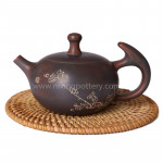 Large Capacity Purple Clay Pot Pure Handmade Maestro Kungfu Tea Pot Chinese Qinzhou Nixing Pottery