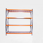 durable warehouse rolling shelving budget rivet racking