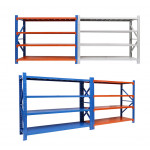 High quality cheap steel iron shelf storage warehouse shelving unit wood