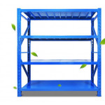 Medium weight 2mx2m metal warehouse selective steel stack racking